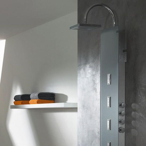 Relaks w łazience: nowy panel prysznicowy