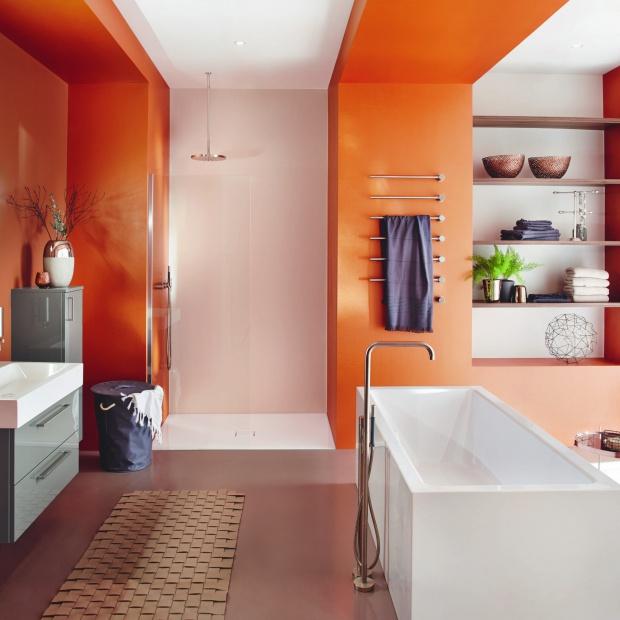 Modna łazienka - tak połączysz światło i kolor