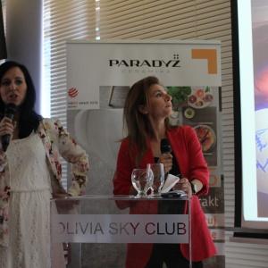 Anna Zalas i Katarzyna Pardiak-Borowska z Ceramiki Paradyż. Fot. Arkadiusz Kaczanowski
