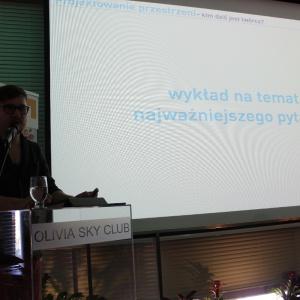 Wykład dr Jana Sikory.  Fot. Arkadiusz Kaczanowski