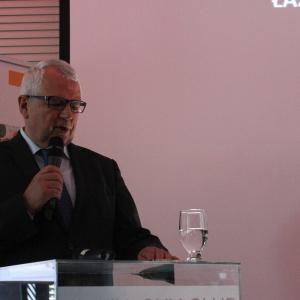 Romuald Osipowicz, dyrektor, wspólnik BIMs Plus Gdańsk - sieć salonów Elements  Studio Dobrych Rozwiązań w Gdańsku. 7 czerwca 2016 r.  fot. Arkadiusz Kaczanowski.