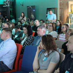 Na spotkaniu Studio Dobrych Rozwiązań w Gdańsku było ponad 130 gości. Fot. Arkadiusz Kaczanowski.