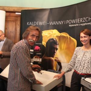 Stoisko firmy Kaldewei. Fot. Arkadiusz Kaczanowski.