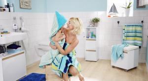 Możemy pomóc maluchom w radzeniu sobie z higieną odpowiednio projektując wnętrze, aby było ciekawe, wesołe, ale przede wszystkim – bezpieczne.