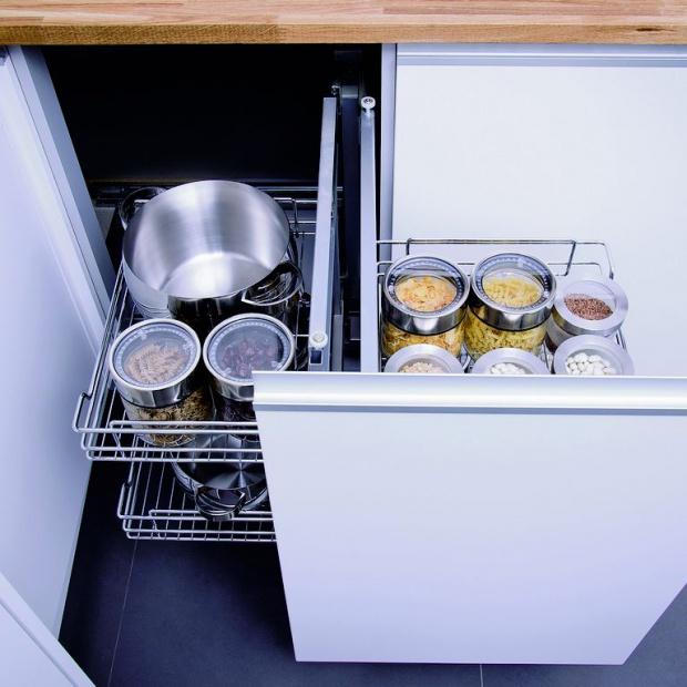 Przechowywanie w małej kuchni to żaden problem!