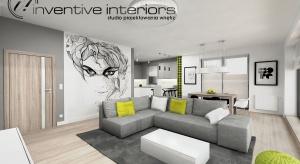 Duży salon z aneksemkuchennym daje wiele możliwości do zagospodarowania wnętrza. Zobaczciepropozycje naszej projektantki.<br /><br />