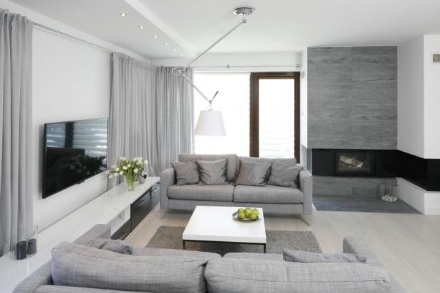 aran acja salonu utrzymana jasny salon tak go urz dzisz z projektantem. Black Bedroom Furniture Sets. Home Design Ideas