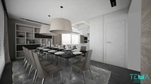 Dom jednorodzinny NUDE BEIGE w stylu nowoczesnym