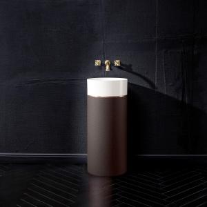 Octagon to umywalka o doskonałym szlifie – jej forma to ośmiokąt wpisany w koło.  Fot. Villeroy & Boch