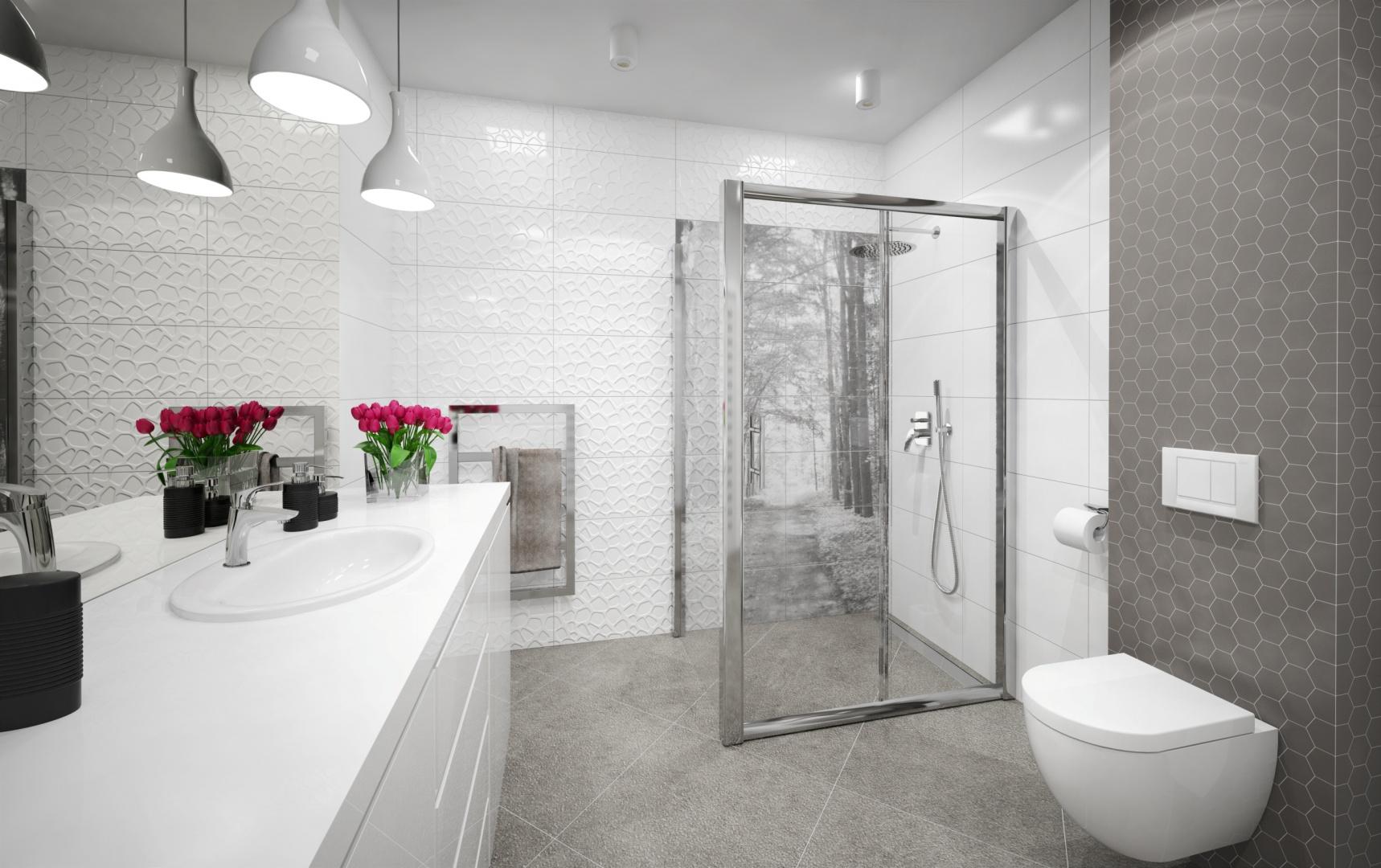 Deante łazienka minimalistyczna proj. Anna Chorosińska.