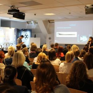 Prezentacja Ani Raduchy-Romanowicz z magazynu Łazienka była wstępem do aktualnych trendów, które objawiły się podczas iSaloni 2016.