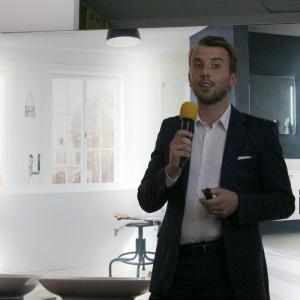 Mariusz Kwaśniewski z firmy Ruck Zuck opowiadał o marce drzwi Desigio.