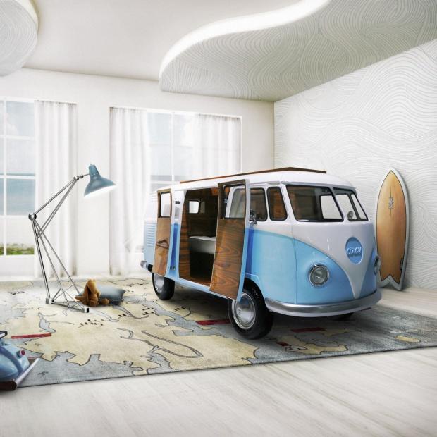 Sypialnia dziecka: niesamowite modele łóżek