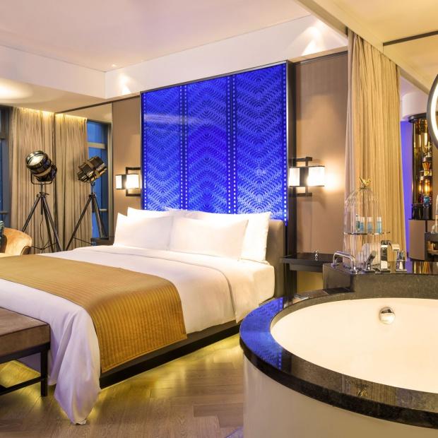 Luksusowa łazienka: imponujące wnętrza w Pekinie