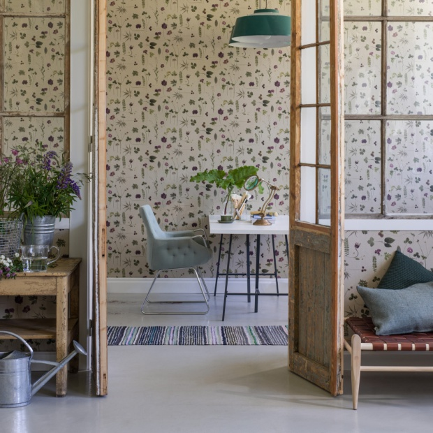 Pomysł na piękną ścianę: tapeta inspirowana Dalekim Wschodem