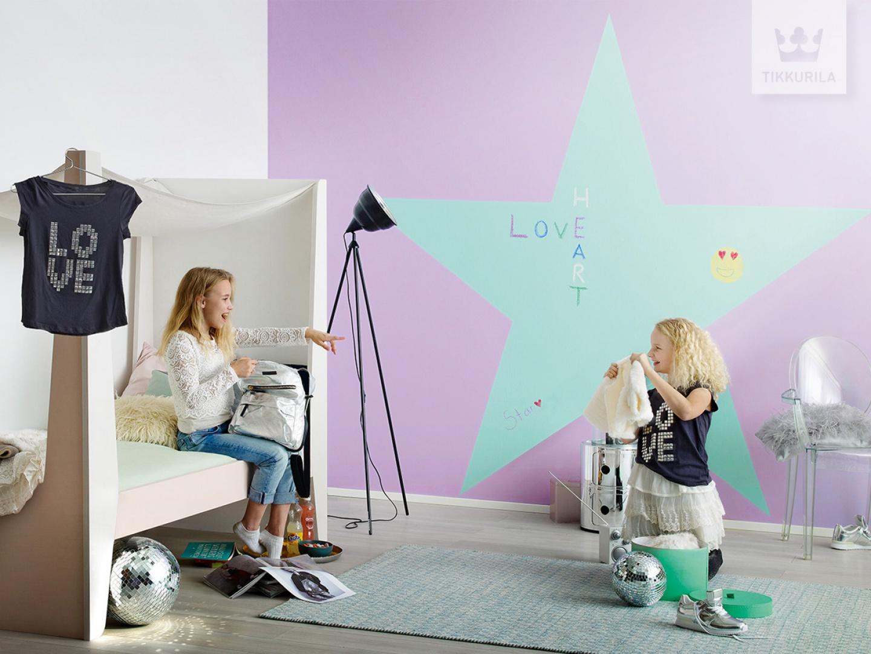 Kolekcja Tikkurila Kids Style. Fot. Tikkurila