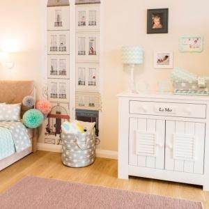 Pastelowy pokój córki Doroty Gardias. Fot. materiały prasowe marki Pinio