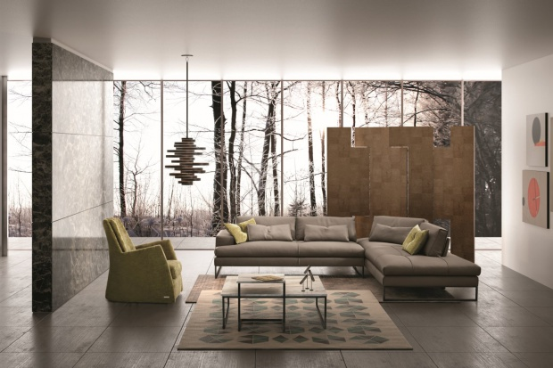 Piękne, włoskie sofy: zobacz modele stworzone do relaksu
