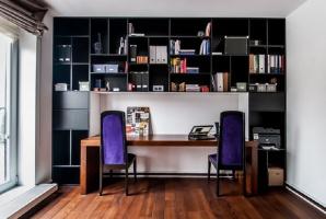 Niewielkie mieszkanie w nowoczesnym stylu. Projekt i zdjęcia: We-ska design