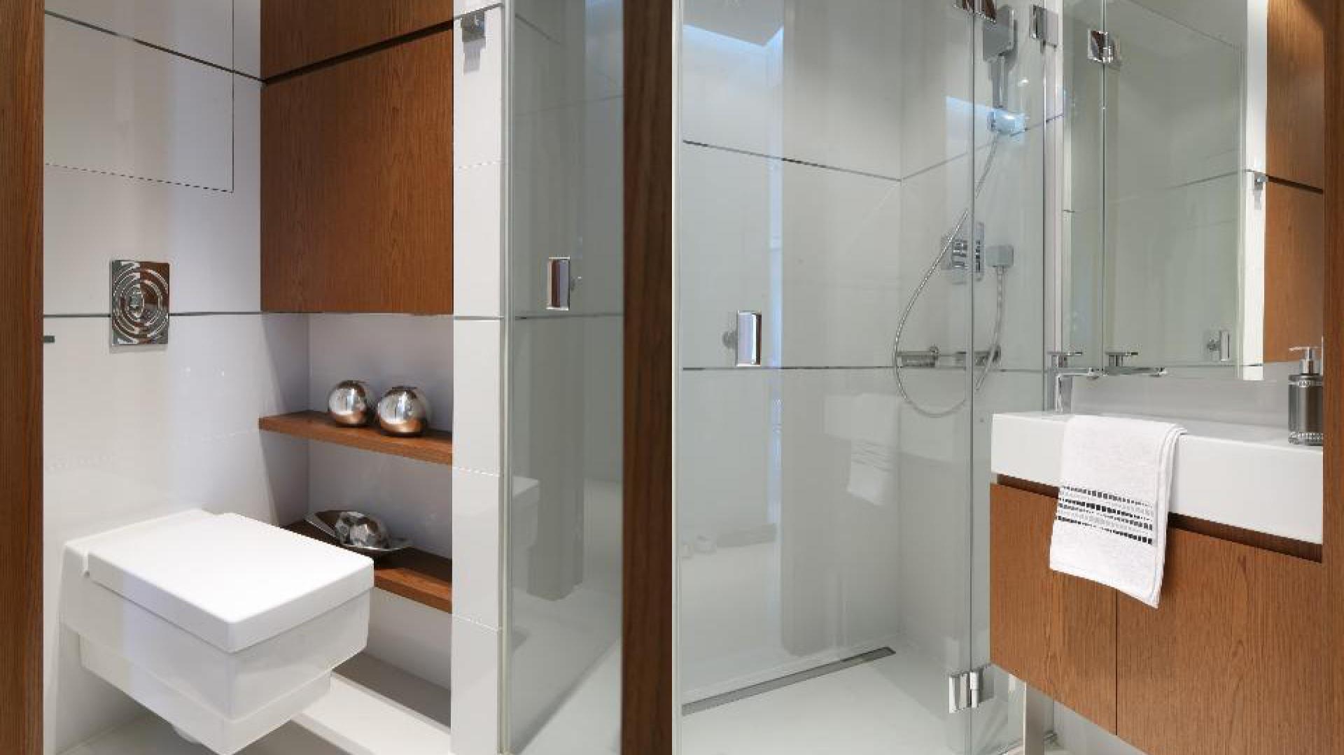 Modny Prysznic 12 łazienek Z Polskich Domów