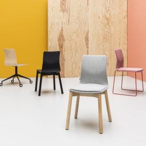 Kolekcja krzeseł Linar. Fot. Noti