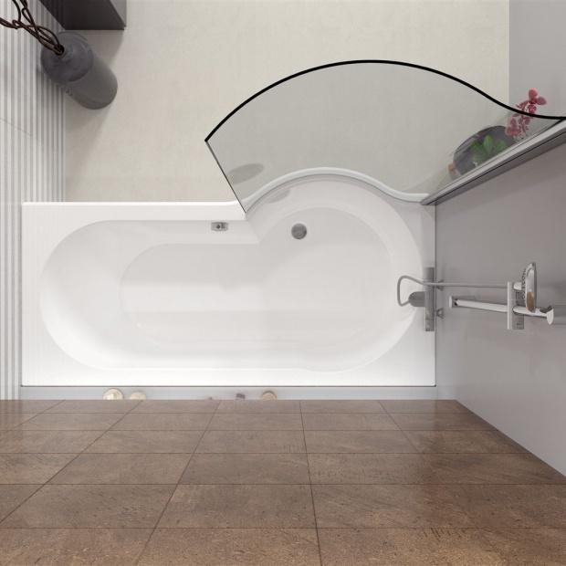 Mała łazienka: tak połączysz wannę i prysznic