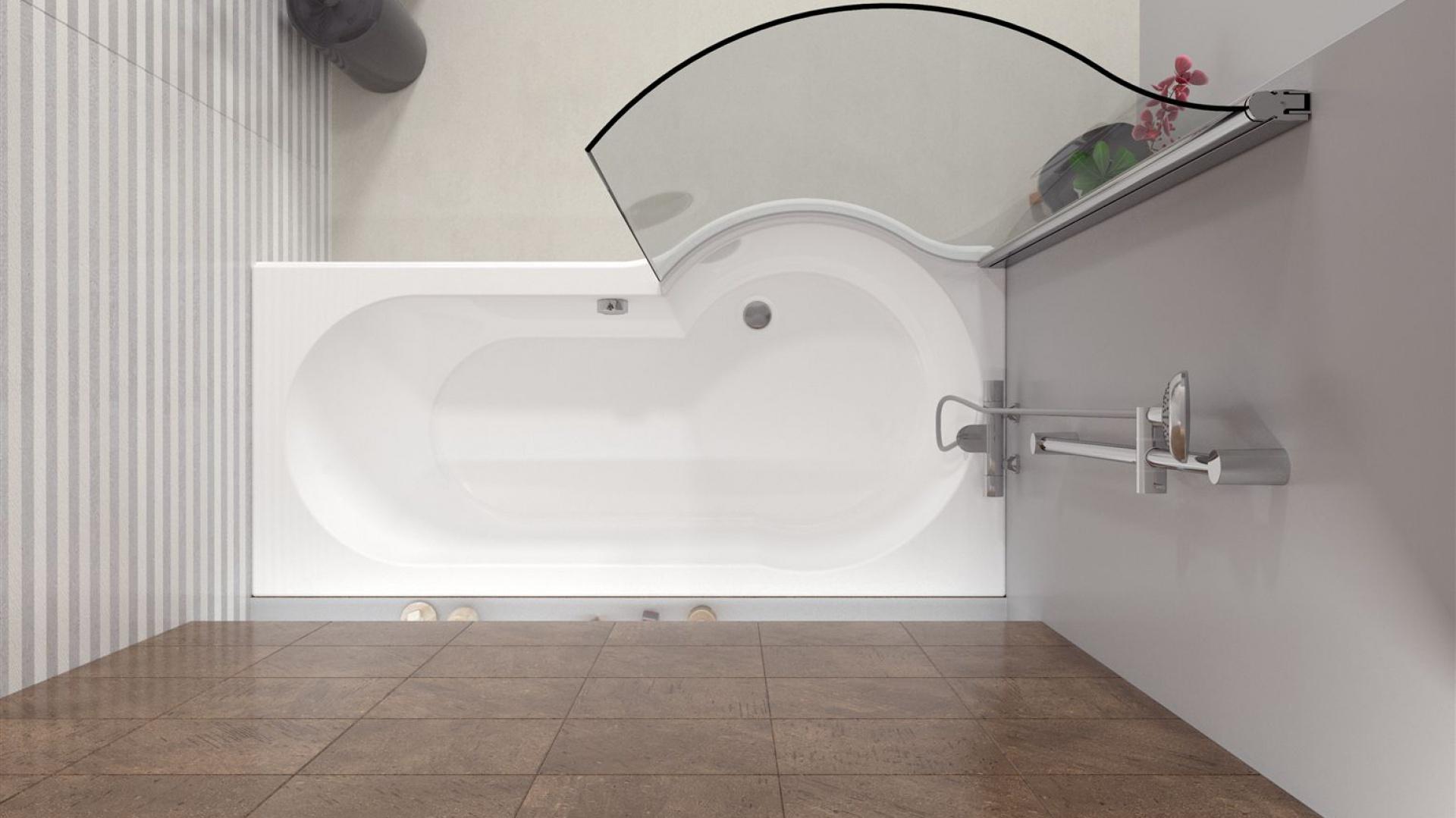 wanna akrylowa asymetryczna ma a azienka tak. Black Bedroom Furniture Sets. Home Design Ideas