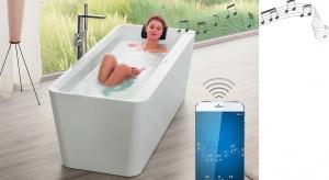 Muzykapodobnie jak ciepła kąpielpozwala się zrelaksować i odprężyć. Villeroy & Boch łączy te dwie przyjemności dzięki nowemu innowacyjnemu systemowi nagłaśniającemu ViSound – który wannę zamienia w głośnik!