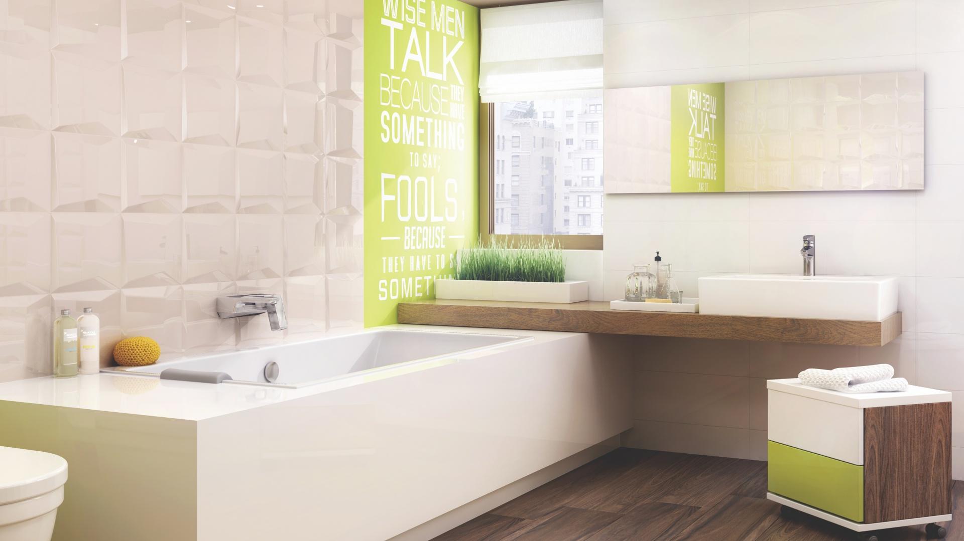 Modna łazienka Wybierz Płytki W Jasnych Kolorach