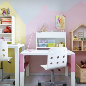Miejsce do nauki. Fot. IKEA Kraków