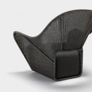 Krzesło outdoorowe Manta - projekt dla marki Feel Good Designs. Fot. archiwum Henrika Pedersena.