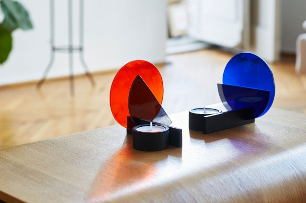 Dekoracje do domu: designerskie świeczniki w stylu Bauhaus