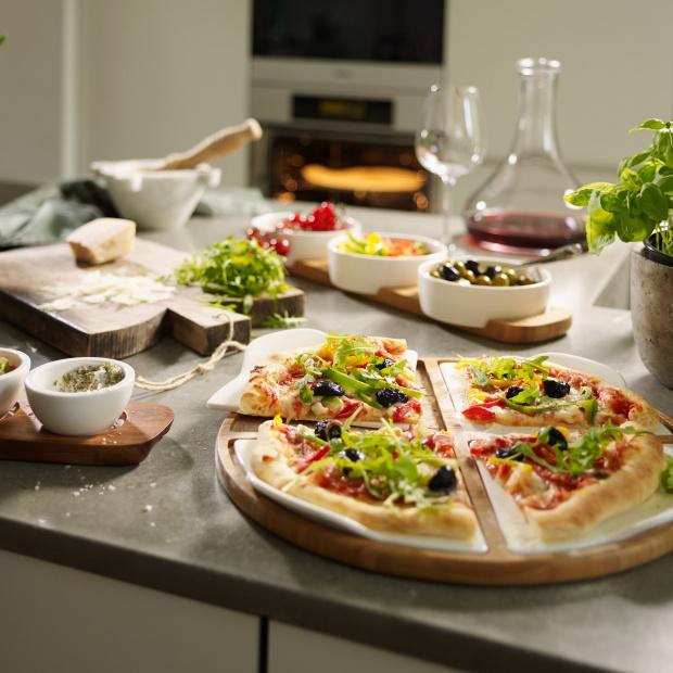 Piękna porcelana - podaj pizzę z klasą