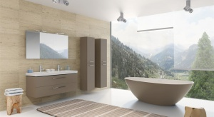 Czy można odpoczywać w łazience? Oczywiście! Odpowiednia aranżacja, najlepiej z wykorzystaniem naturalnych materiałów i wygodna wanna stworzą scenerię idealną do relaksu.