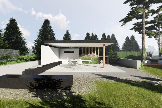 Zobacz projekt nowoczesnego ogrodu