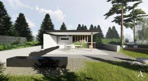 Marzysz o ogrodzie w minimalistycznym stylu. Tak może wyglądać!