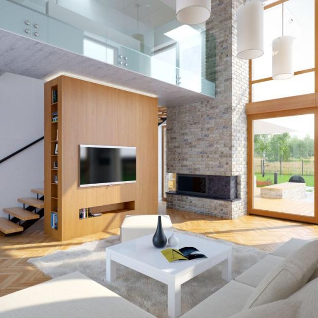 Salon z dużymi oknami. 20 pięknych zdjęć z polskich domów