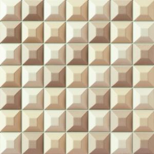 Mozaika ścienna kolekcja Elementary cream. Fot. Grupa Tubądzin