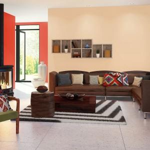 Na ścianach mile widziane będą kolory pomarańczowej terakoty, żółtej ochry czy meksykańskiej czerwieni. Dodatki mogą nawiązywać do tradycyjnego rzemiosła.