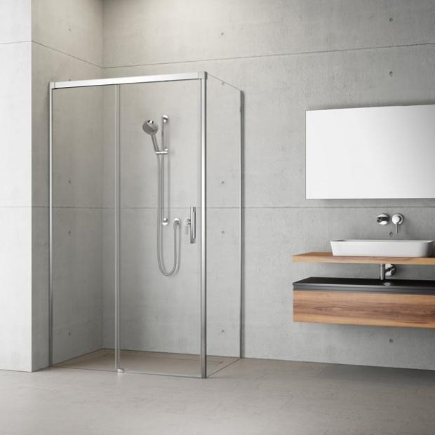 Nowoczesna łazienka. Innowacyjne kolekcje kabin i drzwi wnękowych