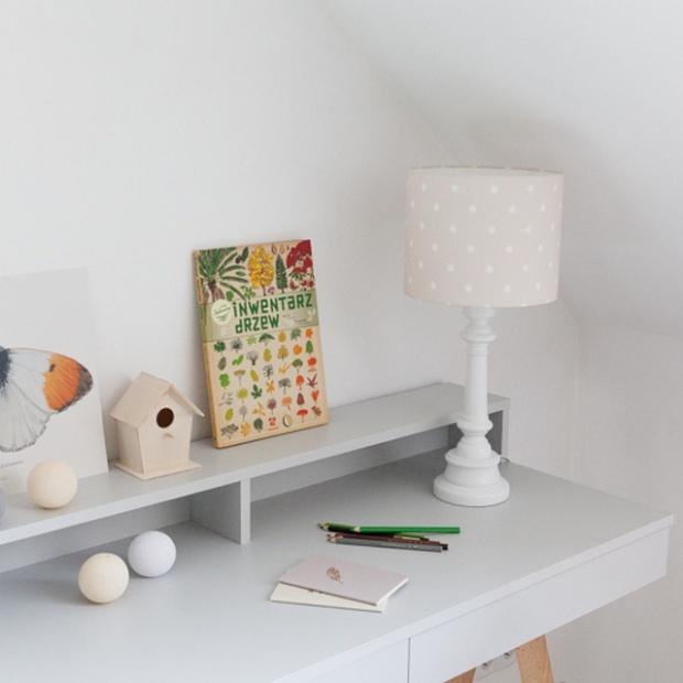 Kropki malowane pędzlem – kolekcja lamp do pokoju dziecka