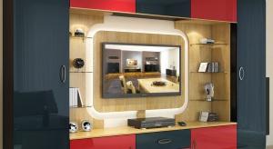 Podpowiadamy jak urządzić kącik telewizyjny tak, aby harmonijnie współgrał z aranżacją pokoju dziennego lub salonu.
