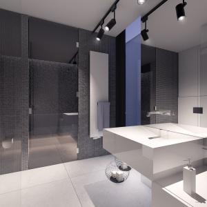 Jedna z łazienek połączona jest z nowoczesną sauną.