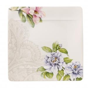 Kolekcję QUINSAI GARDEN zdobią wytworne peonie, delikatne kamelie, kolorowe chryzantemy oraz wspaniałe magnolie. Fot. Villeroy & Boch