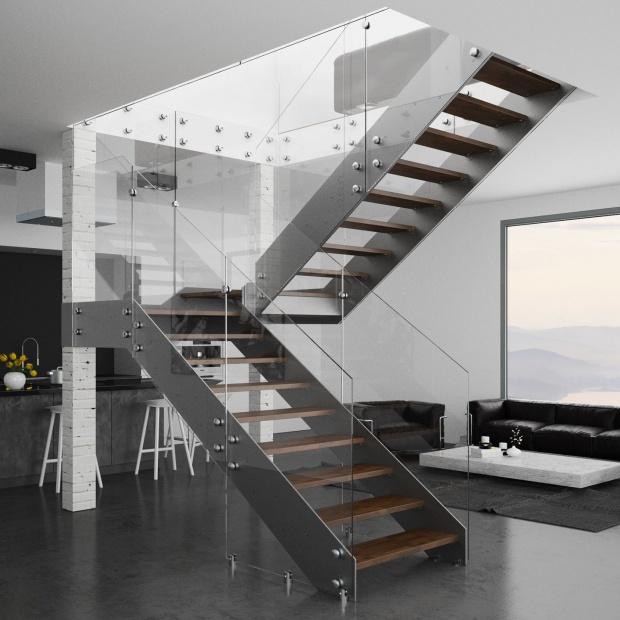 Schody w domu - dopasuj je do stylu wnętrza