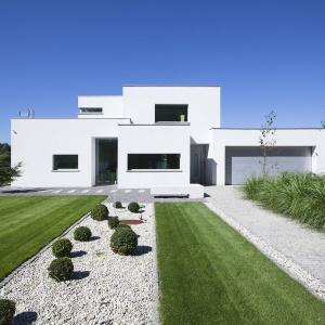 Dom o powierzchni ponad 200 metrów kwadratowych został zaprojektowany jako budynek pasywny. Fot. BXBstudio Bogusław Barnaś