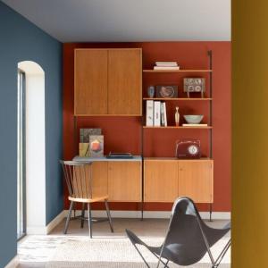Trend kolorystyczny: balans praca dom. Fot Dulux