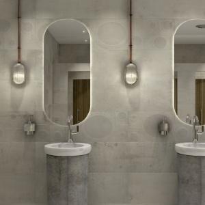 Wnętrza w industrialnym stylu są coraz popularniejsze. Producenci płytek wychodzą temu trendowi naprzeciw i proponują płytki imitujące beton - z subtelnym wzorem. Fot. Apavisa