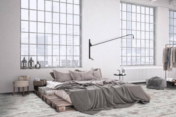Słoneczna sypialnia rodem z południa Francji