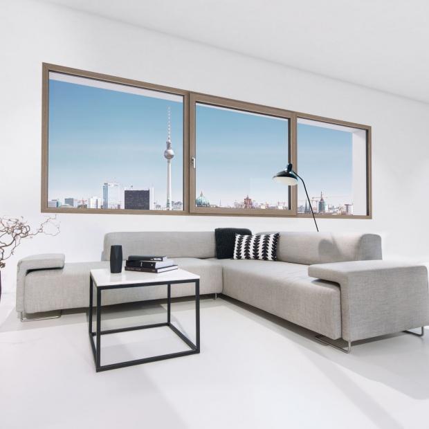 Energooszczędne okna drewniano-aluminiowe